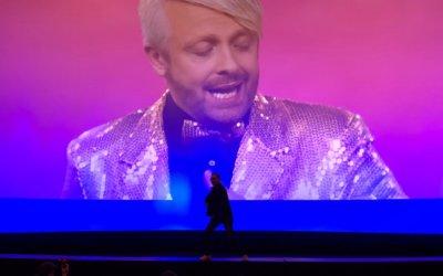 WDR Klappstuhl mit Ross Antony im Kölner Cinedom